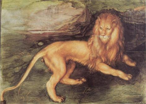Albrecht Dürer (21 May 1471 – 6 April 1528) Lion of St Mark