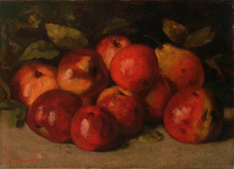 courbet-fruit
