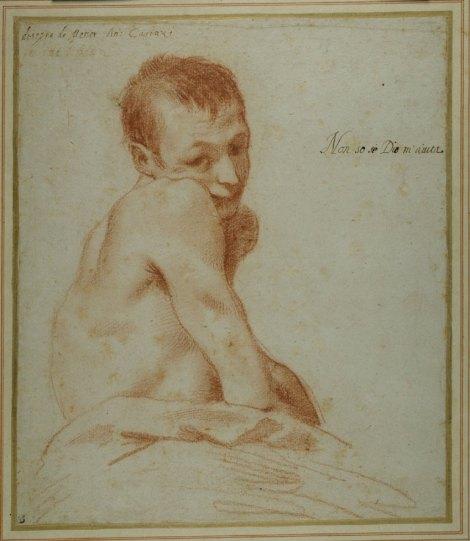Annibale Carracci's A hunchback boy