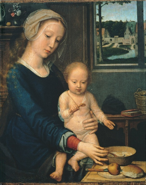 Gerard_David_-_Madonna_and_Child_with_the_Milk_Soup
